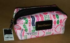 Juicy Couture Small Rectangular Cosmetic Pouch Bag w/Hot Contemporary Print
