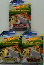 Road trippin Pan American  Jeep Chevy Fleetline 56 Custom Set 1:64 Hot Wheels
