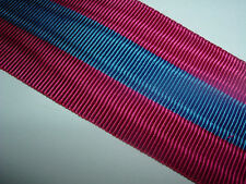 MEDAL RIBBON-GOOD QUALITY FRENCH/FRANCE NATIONAL DEFENCE MEDAL 3rd CLASS RIBBON