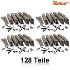 Roco 51222-4 H0 Gleis-Set 132-teilig mit 4 Weichen ++ NEU ++