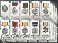 PLAYERS, DECORATIONS & MEDALS, COMPLETE UNISSUED SET OF 50. EXCELLENT CONDITION.