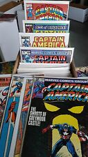 from Avengers Captain America Comic lot of 102 256-431 FN-VF+ bagged boarded