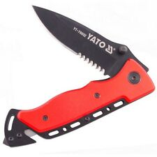 Rescue knife survival tourist Drop point Handle Messer Rettungs YATO