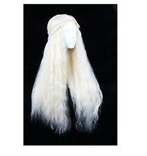 Heat Resistant Blond Wig Hair Cosplay Party Costune Long Wave Curly Anime Wigs