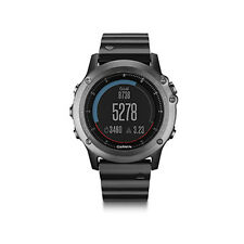 Garmin Fenix3 Sapphire Gray w/ Metal Band Multisport GPS Watch