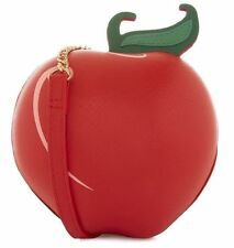 PRIMARK LADIES DISNEY  EVIL QUEEN SNOW WHITE  APPLE RED RETRO HANDBAG NOVELTY