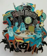 Disney Haunted Mansion Seance Circle Jumbo Pin LE 500 New in Box Spinner
