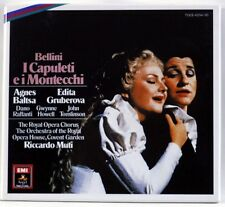 BELLINI I Capuleti E I Montecchi / GRUBEROVA - 2 CD BOX JAPAN