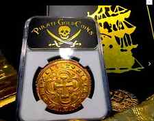 """SPAIN 1712 GOLD 8 ESCUDOS """"ONLY 1 KNOWN FOR VARIETY"""" NGC 58 COB DOUBLOON COIN"""