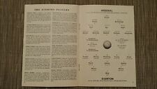 1965/66 Football League: ARSENAL v EVERTON - 12th MARCH