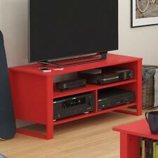Altra Ruby Red TV Stand Center Console Furniture Home Media New Theater