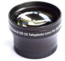 NEW PRO HD 2x TELEPHOTO LENS FOR SONY HDR-CX305e