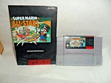 Super Mario All-Stars with manual  (Super Nintendo Entertainment System, 1993)