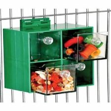 Parrot Toy Four Big Drawers Foraging Feeder for Treats