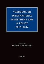 YEARBOOK ON INTERNATIONAL INVESTMENT LAW & - ANDREA K. BJORKLUND (HARDCOVER) NEW
