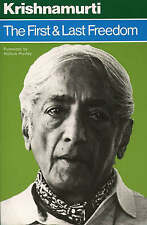 The First and Last Freedom by J. Krishnamurti (Paperback, 1997)