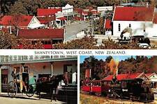 Shantytown, West Coast New Zealand Train Cart Horse Pferde
