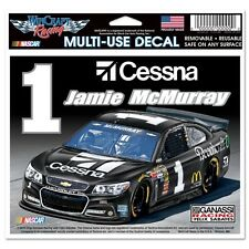 Jamie McMurray 2015 Wincraft #1 Cessna 5x6 Multi Use Decal FREE SHIP!