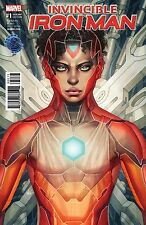 Invincible Iron Man #1 Marvel Now Legacy Edition Artgerm Color Variant