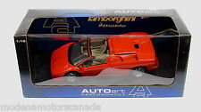 Lamborghini Diablo Roadster Red Auto Art 1/18 Damaged Box Model Mint Condition