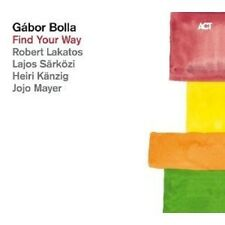 "GABOR BOLLA ""FIND YOUR WAY""  CD NEU"