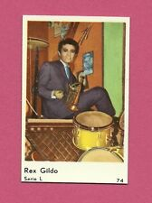 Rex Gildo Drums & Cornet Vintage Movie Film Star Card from Sweden #L74
