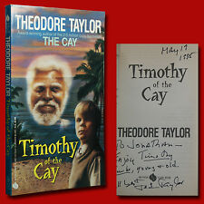 Timothy of the Cay SIGNED Theodore Taylor