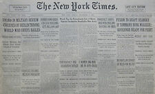 9-1932 September 5 BERLIN MILITARY REVIEW WORLD WAR CHIEFS HAILED. RODRIGUEZ
