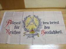 Fahnen Flagge Deutsches Reich Allzeit treu bereit - 90 x 150 cm