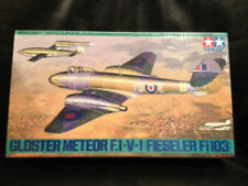 TAMIYA GLOSTER METEOR F.1 V-1 FIESELER Fi103 1:48 Scale Aircraft #61065