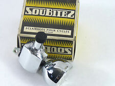 Soubitez  Head Light W Generator Dynamo 120 102 Vintage Bicycle Touring NOS