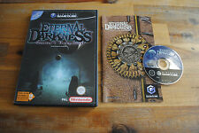 Jeu ETERNAL DARKNESS sur Nintendo Game Cube GC PAL COMPLET