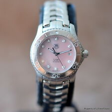 TAG HEUER LADIES LINK WJ131C.BA0573 MOTHER OF PEARL PINK DIAL STAINLESS QUARTZ