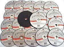 "25 GOLIATH INDUSTRIAL 3"" AIR CUT OFF WHEELS DISCS 1/16"" DOUBLE REINFORCED CW3116"