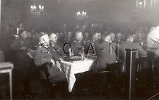 WWII German Large Army RP- Officer- Soldier- Celebrate Christmas Dinner- 1939