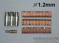 64 PCS MB-15AK Contact Tip 1.2mm Gas Nozzle 145.0075 TIP Holder 002.0078
