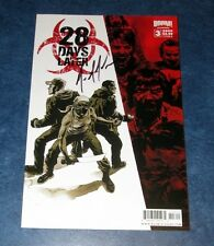28 DAY LATER #3 B signed 1st print BOOM COMIC MICHAEL ALAN NELSON 2010 movie tie