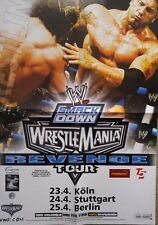 WWE No Way Out 2007 Promo & Wrestlemania Revenge DIN-A2 POSTER WWF Wrestling