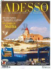 ADESSO, Heft Februar 02/2016: Sicilia - inkl. Booklet evviva! +++ wie neu +++