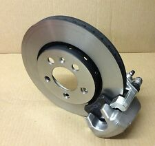 AUDI A3 1.8 T VENTED REAR BRAKE SETUP CALIPERS CARRIERS DISCS PADS PACKAGE