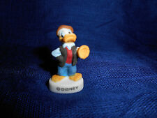 DONALD DUCK TRUMPET Mini Figure FRENCH Porcelain Feves DISNEY JAZZ BAND MUSICIAN