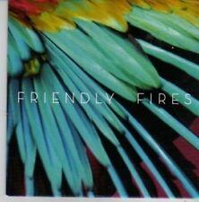 (BZ37) Friendly Fires, Live Those Days Tonight - 2010 DJ CD