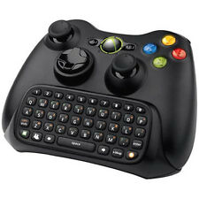 Keyboard Keypad Text Messenger Chatpad for Xbox 360 Game Controller Black BLS