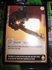 STAR WARS CCG JEDI KNIGHTS CARD MINT/N-MINT 1ST DAY 17C COM ELLORRS MADAK'S...