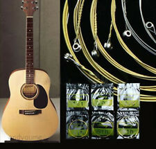A Set of 6 Metal Steel Strings for Acoustic Guitar 150XL / .012in Hot Sell Vogue