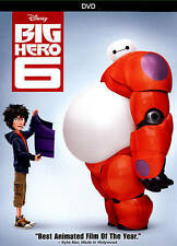 Big Hero 6 ( 2015) Animation,  Adventure [Format:DVD]
