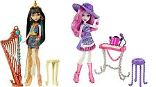 Monster High Music Class Cleo De Nile Harp Doll & Ari Hauntington Piano Doll-NEW