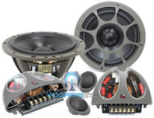 "OPEN BOX MOREL HYBRID 602 6.5""  CAR 2WAY COMPONENT SPEAKERS MIDS"