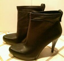 NEW! Nine West Be There Black Platform Man Made Ankle Boots Shoes 8 - $119.00