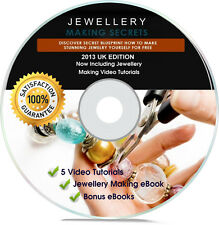 Jewellery Making Videos - How To Make World Class Jewellery - Home Business CD